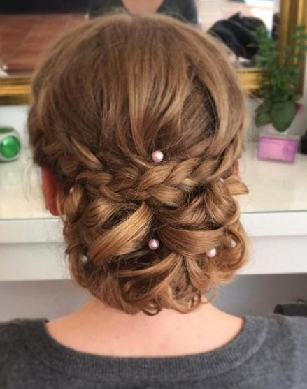 20 Braided Updos For Girls