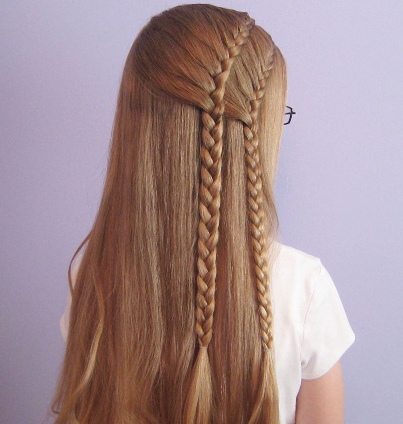 Two French Braid Hairstyles For Women
