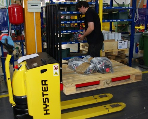 Powered Pallet Trucks