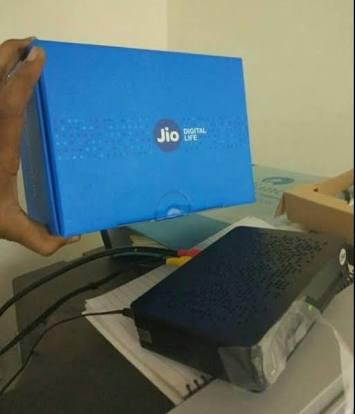 जियो सेटअप बॉक्स