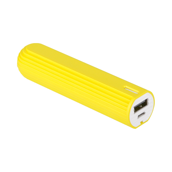 PB ASK02-002 FUN-Tube-Yellow-001_powerbank_batterie-externe_portable