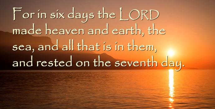 Kuvahaun tulos haulle Exodus 31:17