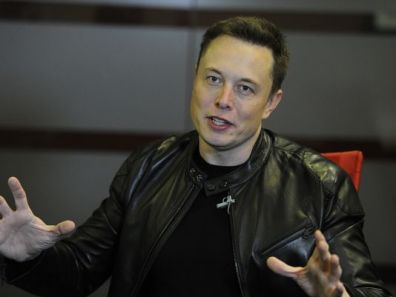 Elon Musk, founder of Tesla Motors and SpaceX, in a USA TODAY interview (Photo: Maxine Park USA TODAY)