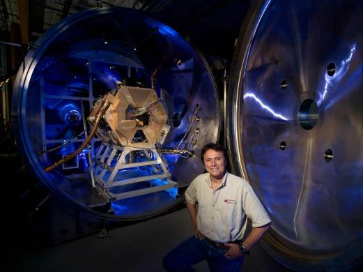 Former astronaut Franklin Chang-Díaz leads Ad Astra Rocket Co. and highly charged work on the Variable Specific Impulse Magnetoplasma Rocket (VASIMR) engine. Credit: Ad Astra