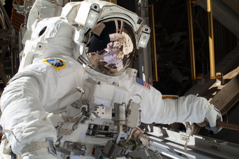 Astronauts Complete First in Series of Spacewalks