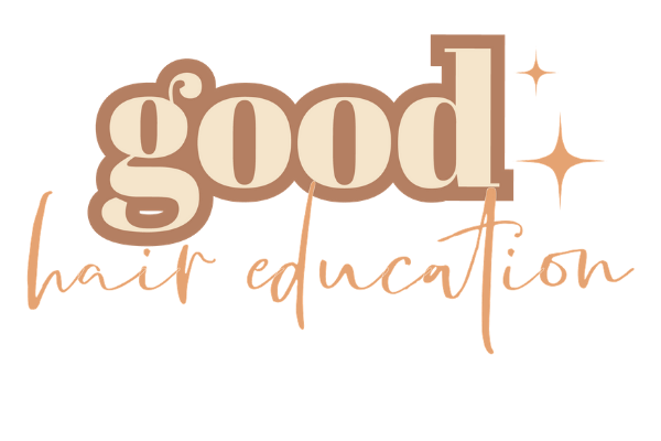 good hair education offers marketing branding and website development and design for hairstylists and salon owners