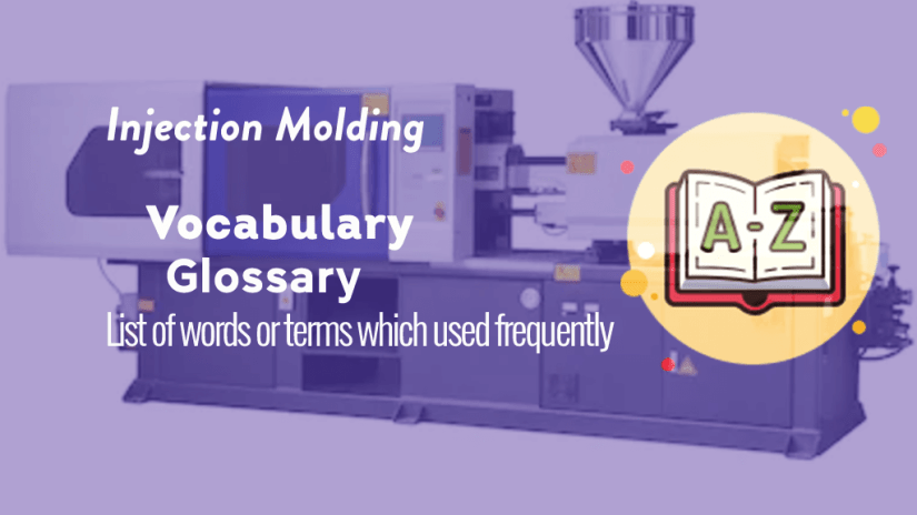 Injection molding machine glossary or terms