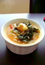 Kale Soup with Veggies (perfect for the cold and flu season)