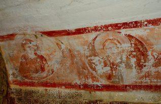Фреска внутри крепости