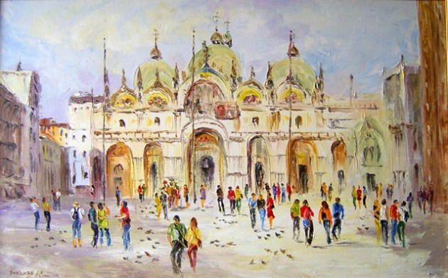 Площадь Сан-Марко Венеция