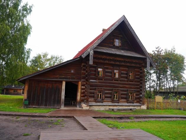 История деревни. Музей в Суздале