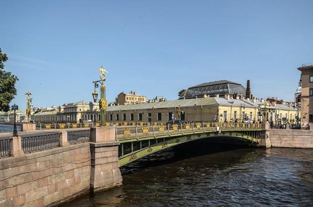 Пантелеймоновский мост Санкт-Петербург