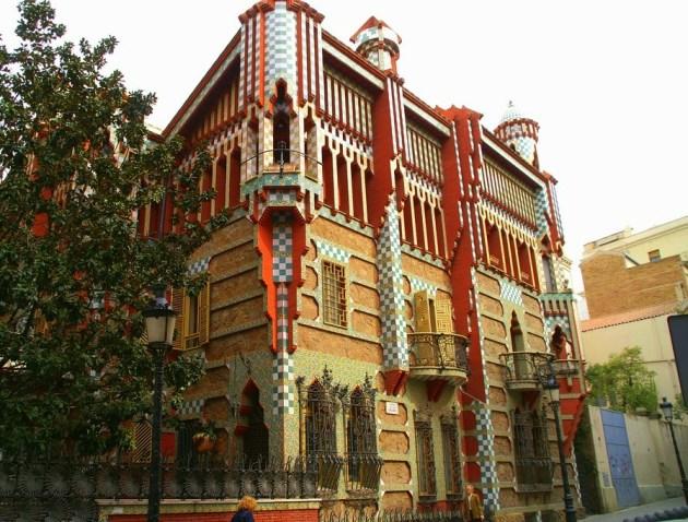 Дом Висенс - первое творение Гауди в Банселоне