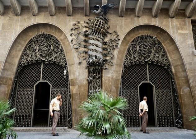 Дворец Гуэль - популярная достопримечательность Барселоны