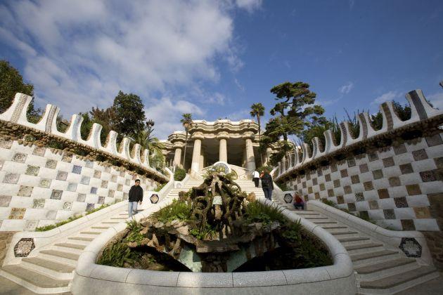 Парк Гуэля - лучший парк Барселоны