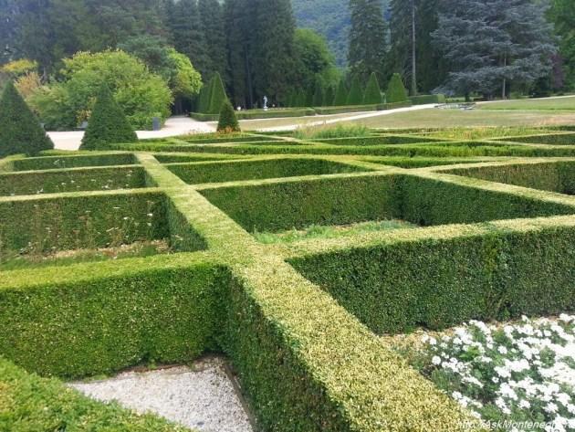 Chateau de Vizille - парки Франции