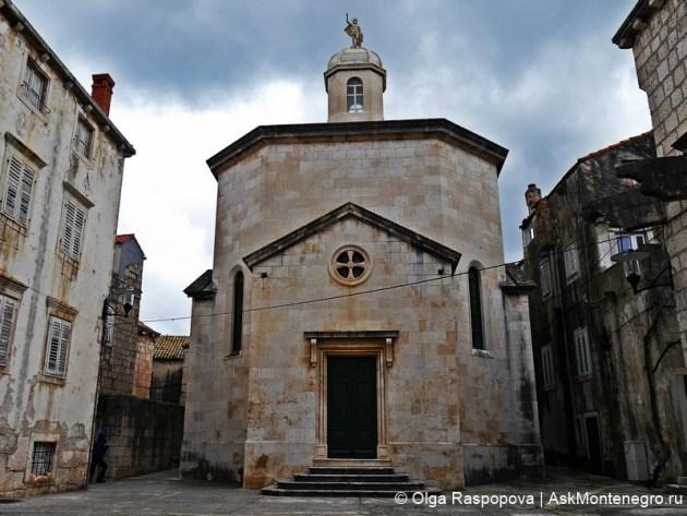 церковь святого юстина корчула