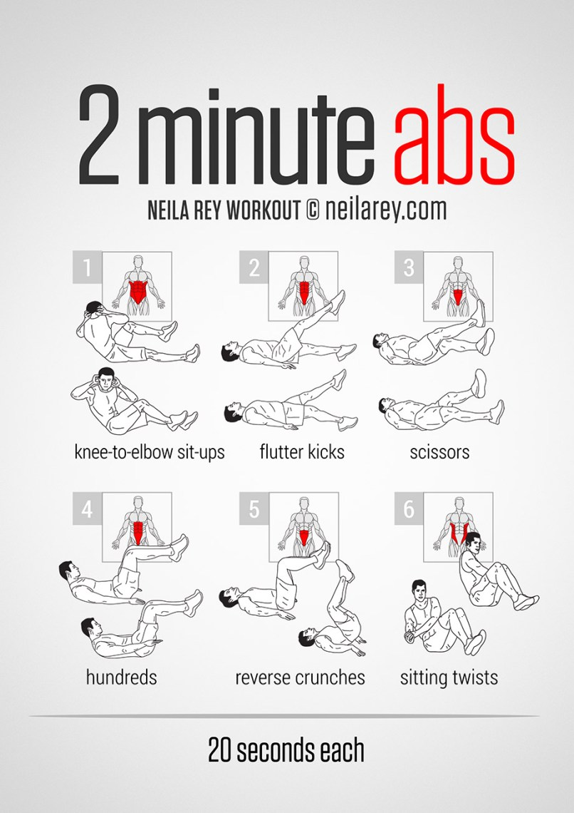 Six Pack Workout Routine No Equipment Eoua Blog