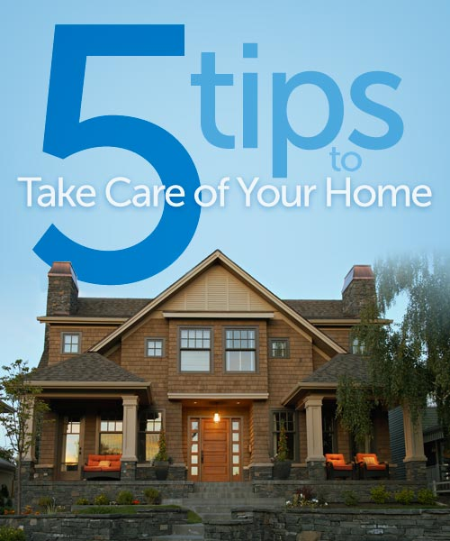 Primerica Presents Five Tips to Take Care of Your Home