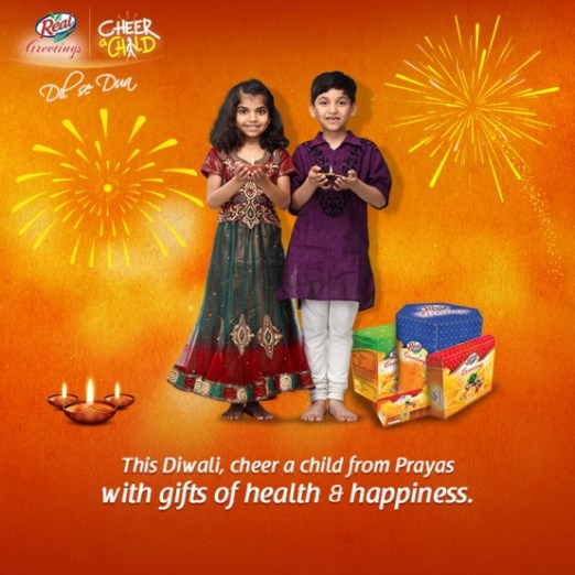 Cheer a Child' this Diwali to Spread Health & Happiness Among Kids
