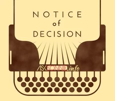 notice-of-decision