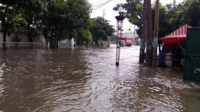 Floods that can cause work suspension