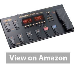 Best Multi Effects Pedal: Boss GT-100 Guitar Multi-Effects Pedal Review