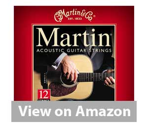 Martin M190 Acoustic Guitar Strings Review