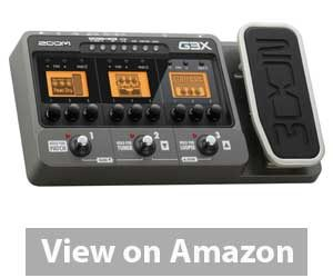 Best Multi Effects Pedal: Zoom G3X - Pedal Review