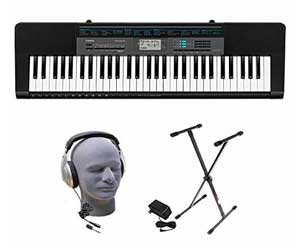 Casio Inc. CTK2400 PPK 61-Key Premium Portable Keyboard Package with Samson HP30 Headphones, Stand and Power Supply Review