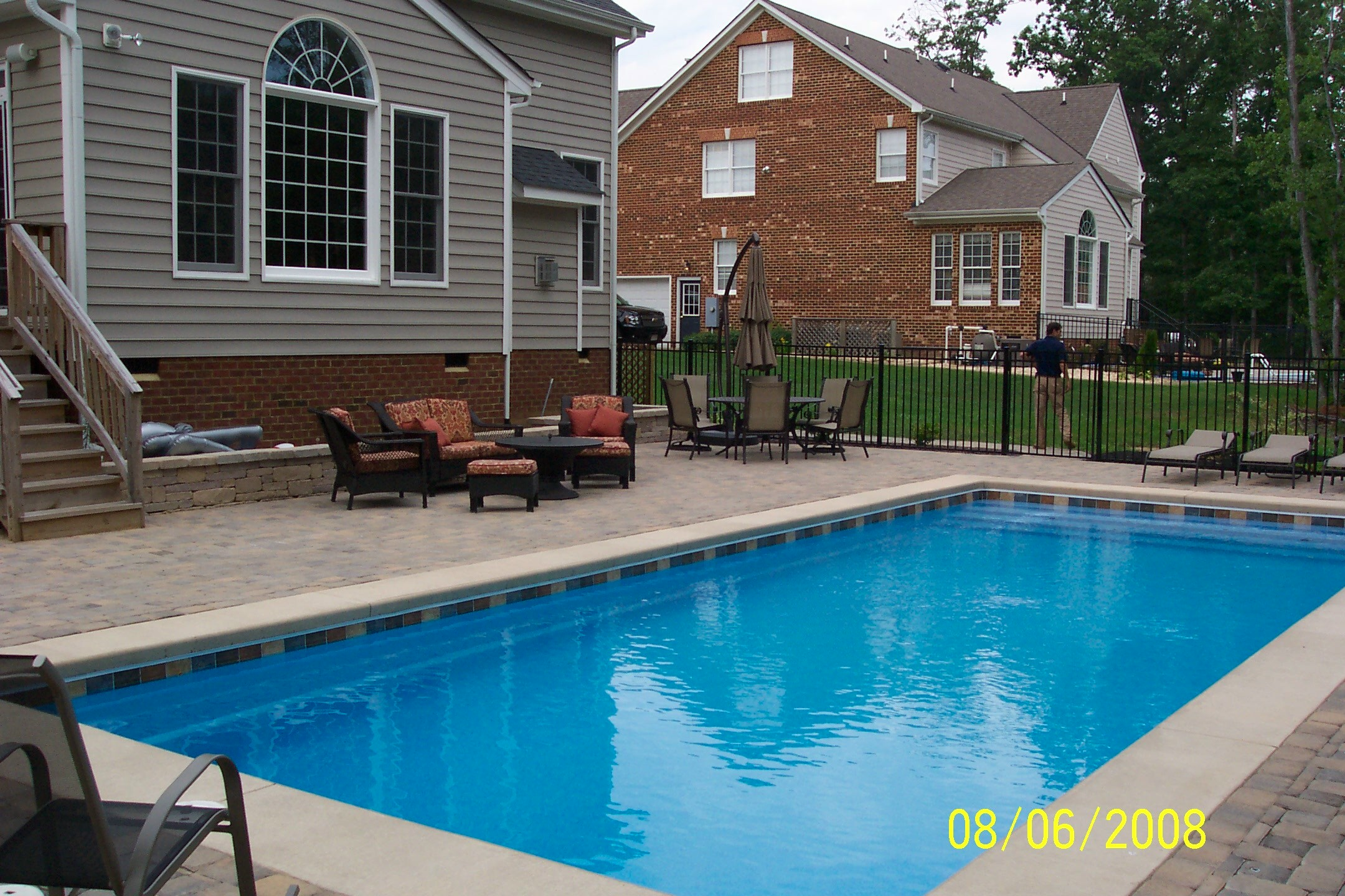 Swimming Pools   Ask the Landscape Guy on Unlevel Backyard Ideas id=75444