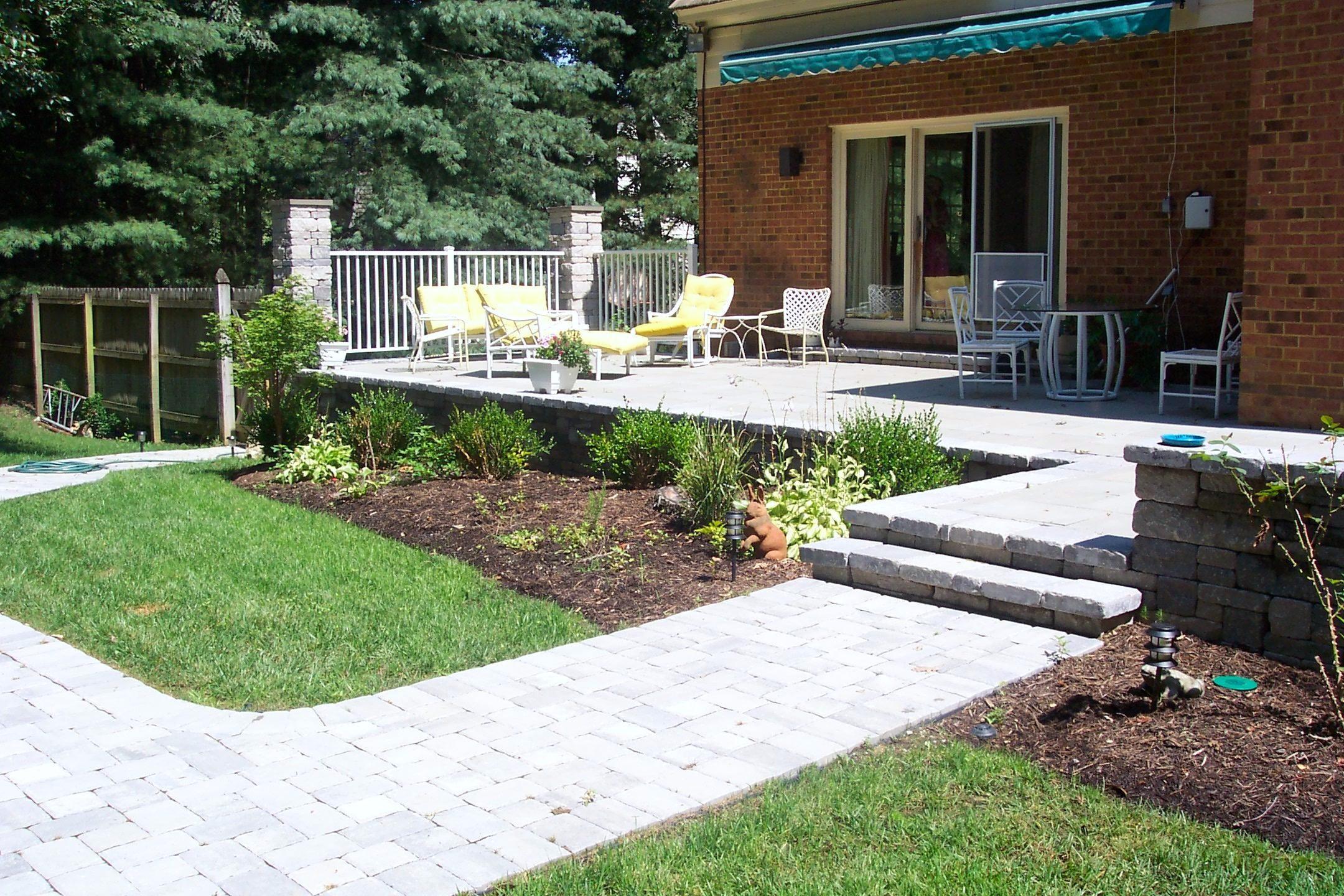 paver patios vs. wood deck | Ask the Landscape Guy on Backyard Wood Patio Ideas id=30155