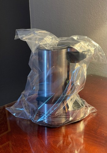 """Hotel Room Coffee Maker - """"Because of the Sanitary Condition"""""""