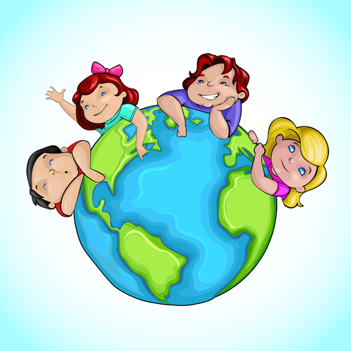 Kids around Earth