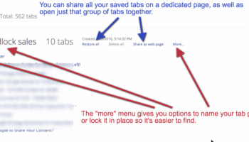 How to use OneTab to research and write at the same time without