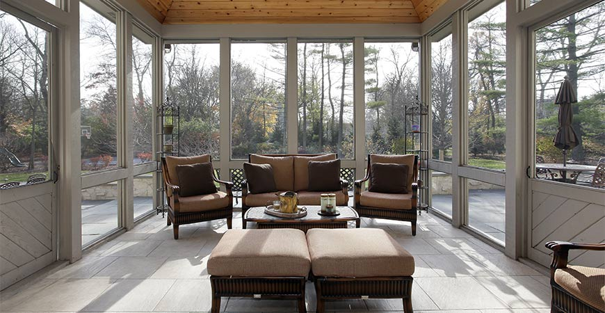 clever screened in porch ideas
