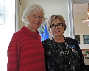Nanna Hermansson, Estrid Brekkan sendiherra | ambassador