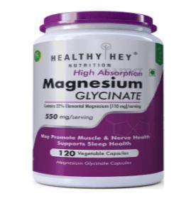 Magnesium glycinate supplements