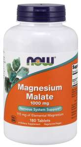 Magnesium malate supplements