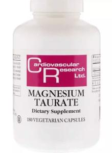 Magnesium taurate supplements