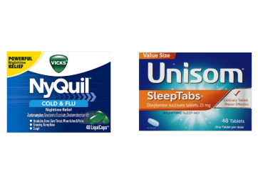Unisom and Nyquil
