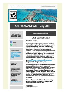 ASLEC-ANZ newsletter 2019