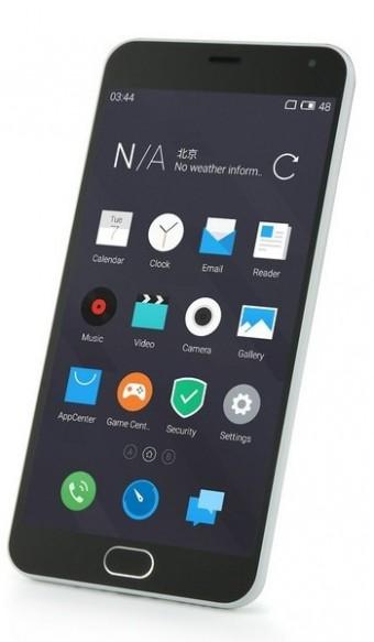 Meizu M2 Note - лицевая сторона