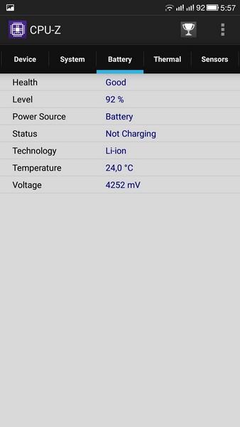 LeTV Le 1s - CPU-Z 4