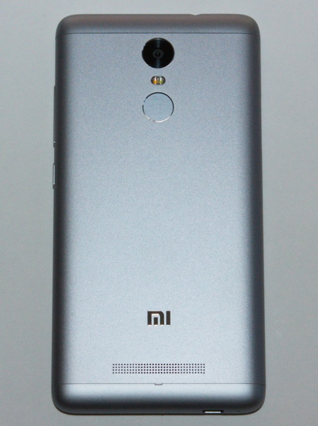 Xiaomi Redmi Note 3 - Back