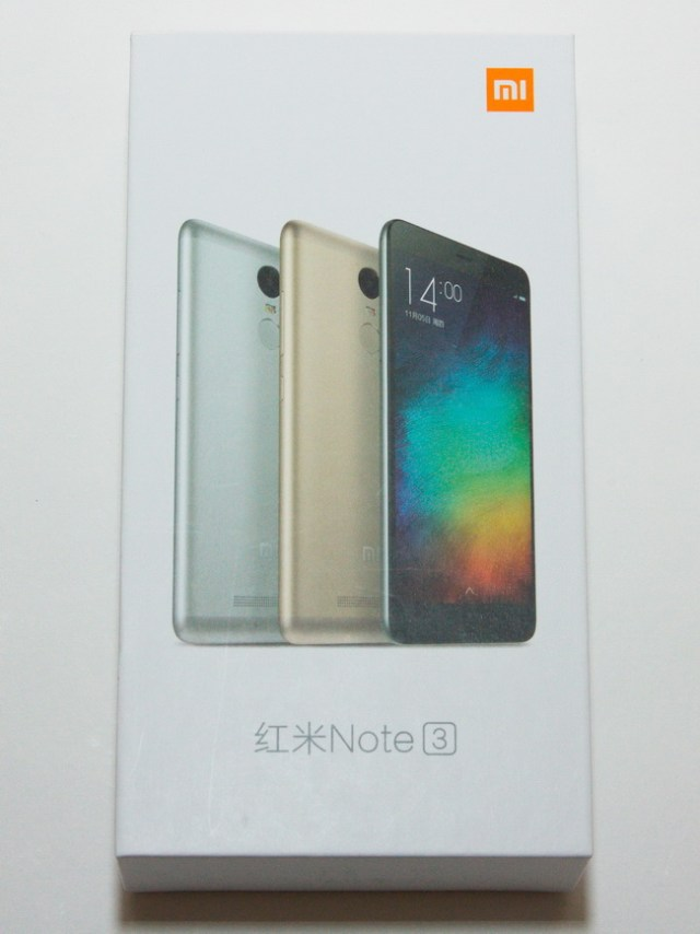 Xiaomi Redmi Note 3 - Box