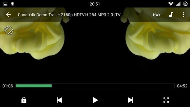 Lenovo ZUK Z1 - 4K video