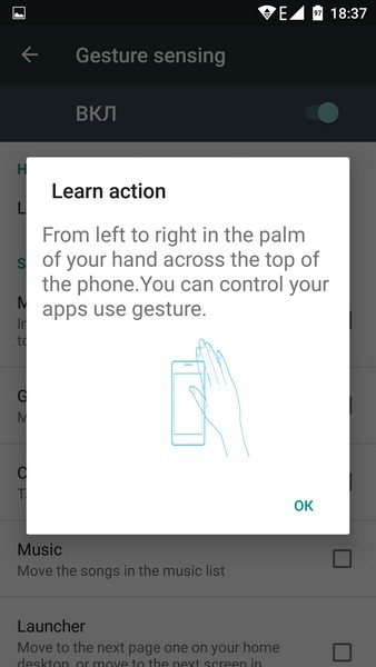 Umi Touch Review - Gesture