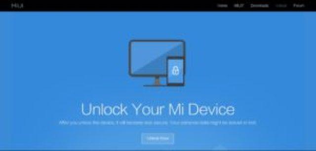 Unlock Xiaomi bootloader - 01