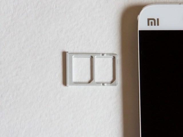 Xiaomi Mi5 - SIM-card
